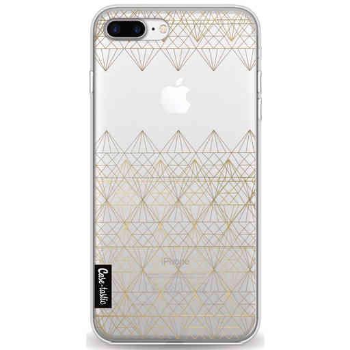 Casetastic Softcover Apple iPhone 7 Plus / 8 Plus - Golden Diamonds