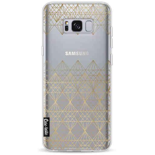Casetastic Softcover Samsung Galaxy S8 Plus - Golden Diamonds