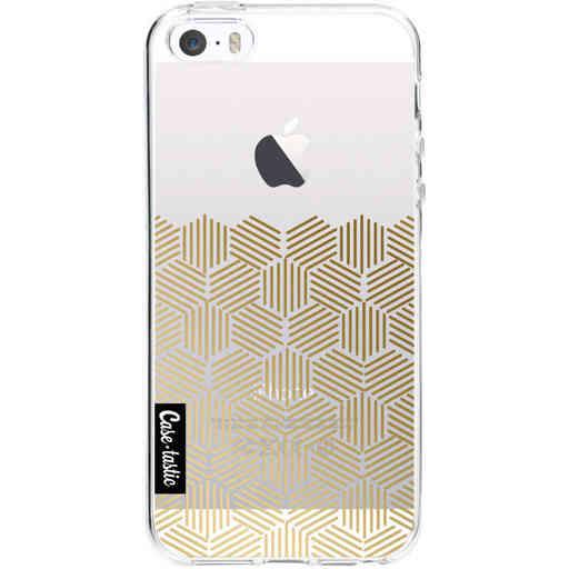 Casetastic Softcover Apple iPhone 5 / 5s / SE - Golden Hexagons