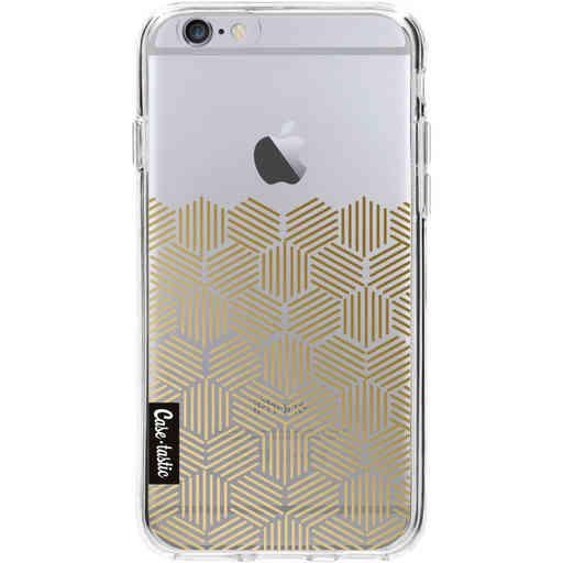 Casetastic Softcover Apple iPhone 6 / 6s - Golden Hexagons