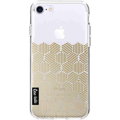 Casetastic Softcover Apple iPhone 7 / 8 / SE (2020) - Golden Hexagons