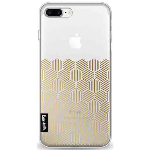 Casetastic Softcover Apple iPhone 7 Plus / 8 Plus - Golden Hexagons