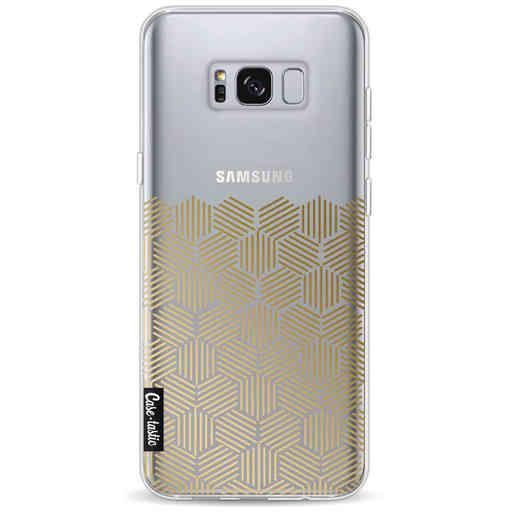 Casetastic Softcover Samsung Galaxy S8 Plus - Golden Hexagons