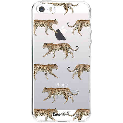 Casetastic Softcover Apple iPhone 5 / 5s / SE - Hunting Leopard