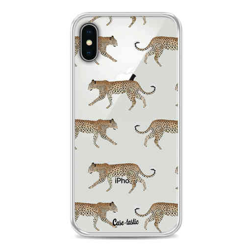 Casetastic Softcover Apple iPhone X / XS - Hunting Leopard