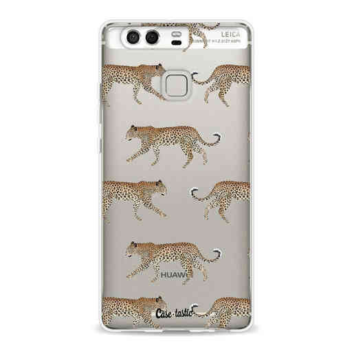 Casetastic Softcover Huawei P9 - Hunting Leopard