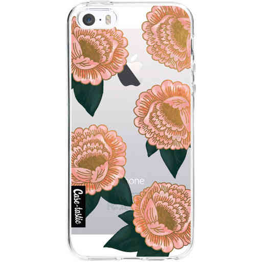 Casetastic Softcover Apple iPhone 5 / 5s / SE - Winterly Flowers