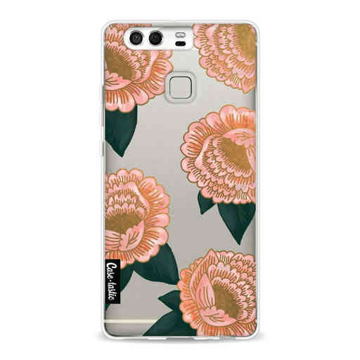 Casetastic Softcover Huawei P9 - Winterly Flowers
