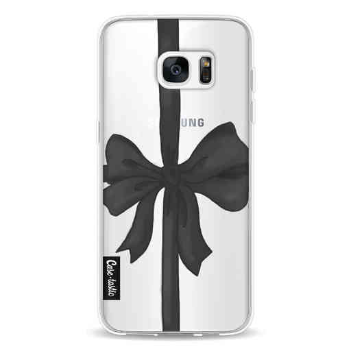 Casetastic Softcover Samsung Galaxy S7 Edge - Black Ribbon
