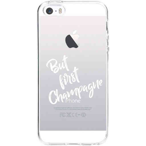 Casetastic Softcover Apple iPhone 5 / 5s / SE - But First Champagne