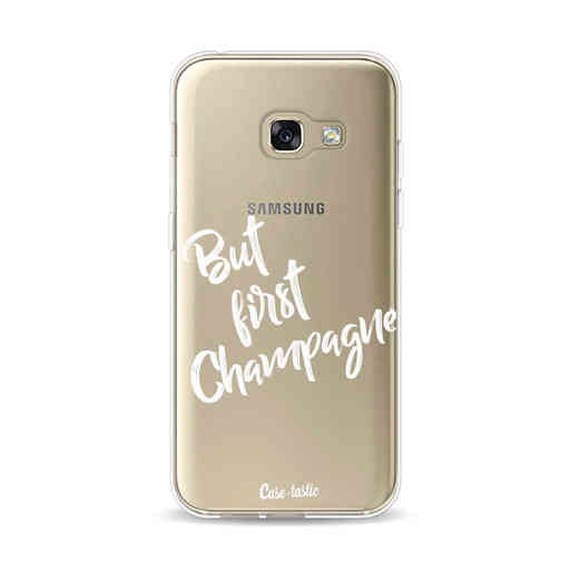 Casetastic Softcover Samsung Galaxy A3 (2017)  - But First Champagne