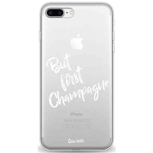 Casetastic Softcover Apple iPhone 7 Plus / 8 Plus - But First Champagne