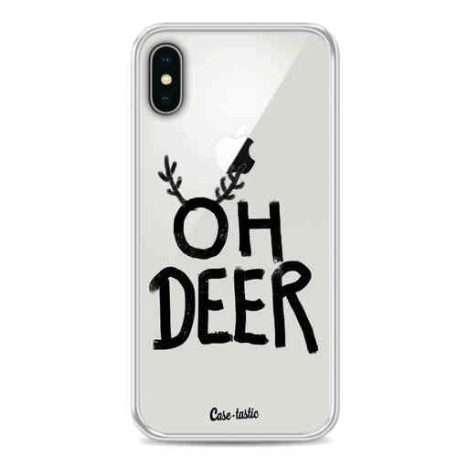 Casetastic Softcover Apple iPhone X / XS - Oh Deer