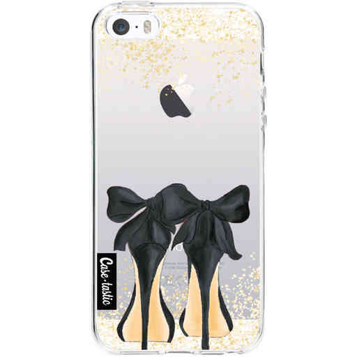 Casetastic Softcover Apple iPhone 5 / 5s / SE - Sparkling Shoes