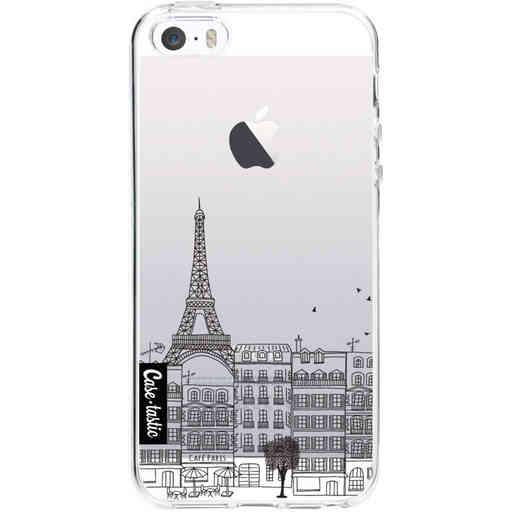 Casetastic Softcover Apple iPhone 5 / 5s / SE - Paris City Houses