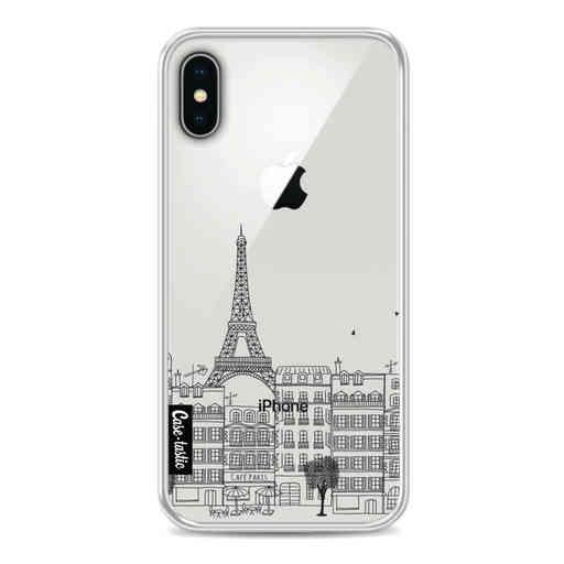 Casetastic Softcover Apple iPhone X / XS - Paris City Houses