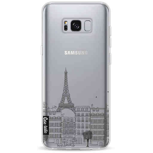Casetastic Softcover Samsung Galaxy S8 Plus - Paris City Houses