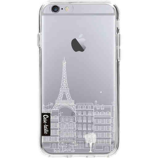 Casetastic Softcover Apple iPhone 6 / 6s - Paris City Houses White