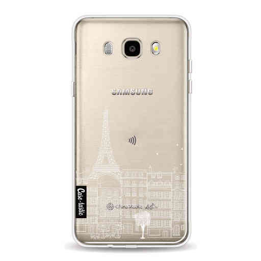 Casetastic Softcover Samsung Galaxy J5 (2016) - Paris City houses White