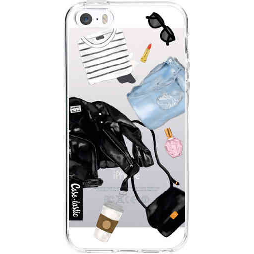 Casetastic Softcover Apple iPhone 5 / 5s / SE - Fashion Flatlay