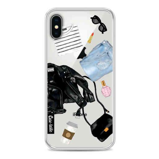 Casetastic Softcover Apple iPhone X / XS - Fashion Flatlay