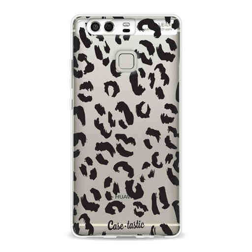 Casetastic Softcover Huawei P9 - Leopard Print Black
