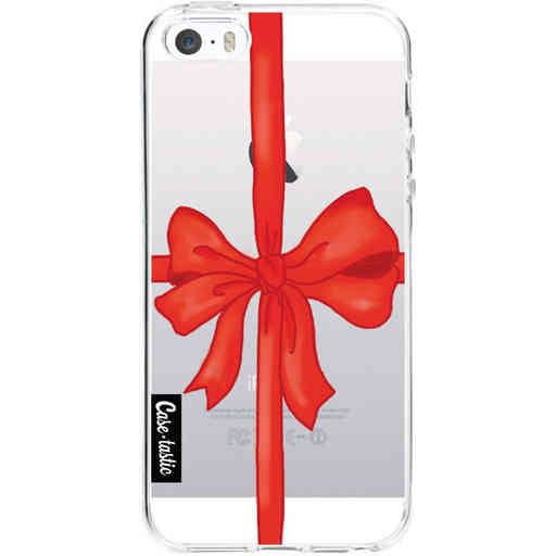 Casetastic Softcover Apple iPhone 5 / 5s / SE - Christmas Ribbon