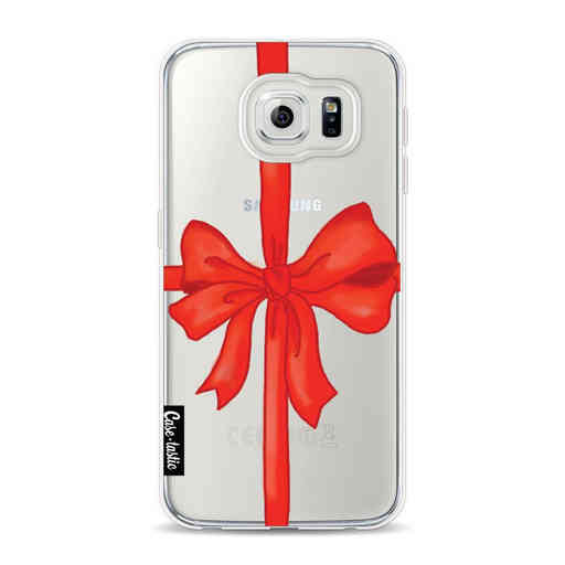 Casetastic Softcover Samsung Galaxy S6 - Christmas Ribbon