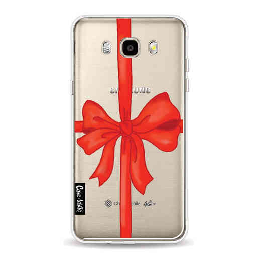 Casetastic Softcover Samsung Galaxy J5 (2016) - Christmas Ribbon