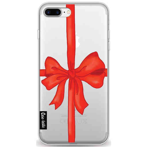 Casetastic Softcover Apple iPhone 7 Plus / 8 Plus - Christmas Ribbon