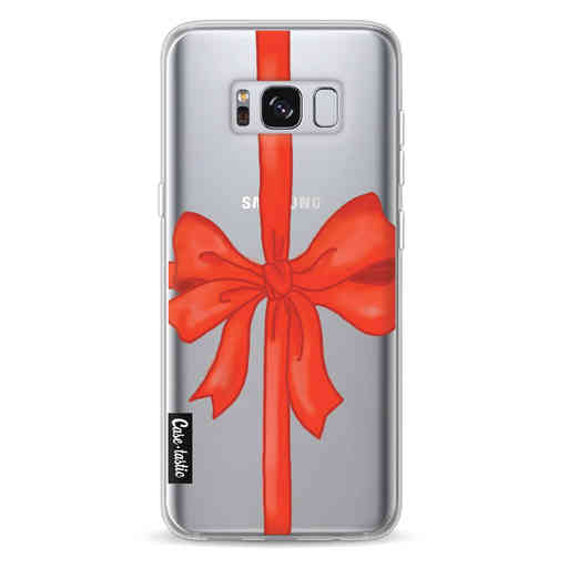 Casetastic Softcover Samsung Galaxy S8 - Christmas Ribbon