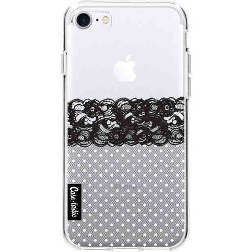 Casetastic Softcover Apple iPhone 7 / 8 / SE (2020) - Lace and Polkadots