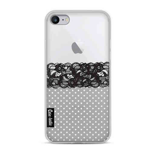 Casetastic Softcover Apple iPhone 8 - Lace and Polkadots