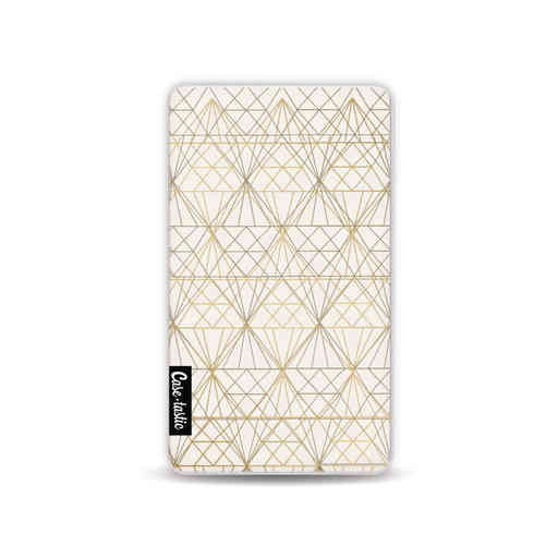 Casetastic Powerbank 4.000 mAh - Golden Diamonds