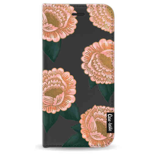 Casetastic Wallet Case Black Apple iPhone 8 - Winterly Flowers