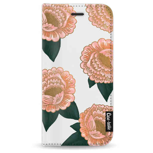 Casetastic Wallet Case White Apple iPhone 8 - Winterly Flowers