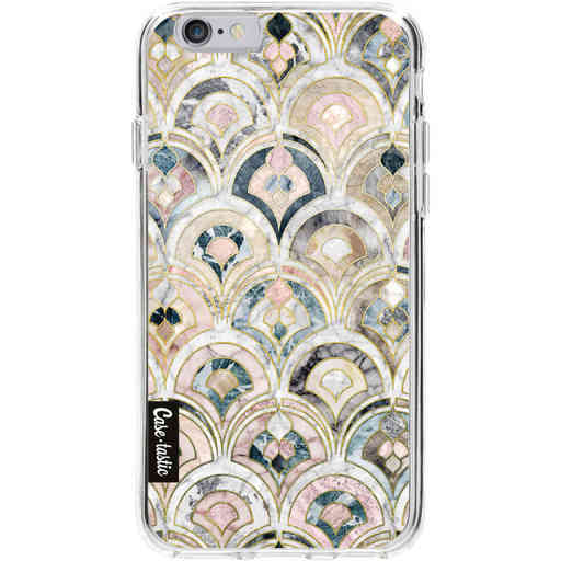 Casetastic Softcover Apple iPhone 6 / 6s - Art Deco Marble Tiles