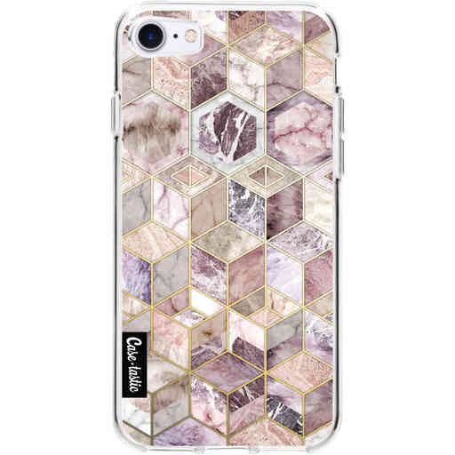 Casetastic Softcover Apple iPhone 7 / 8 / SE (2020) - Blush Quartz Honeycomb