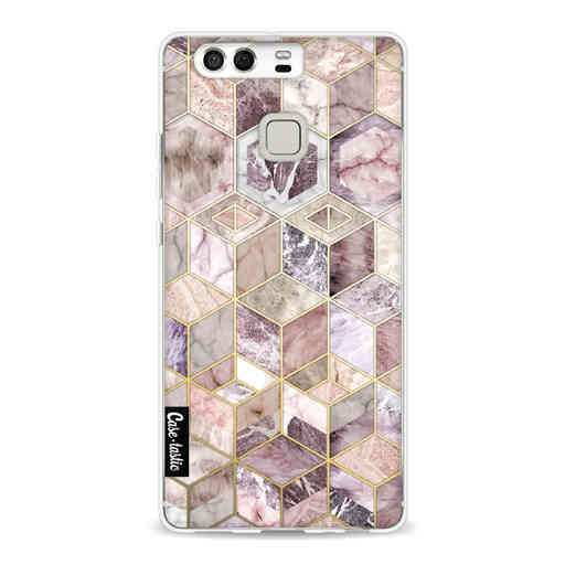 Casetastic Softcover Huawei P9 - Blush Quartz Honeycomb