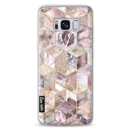 Casetastic Softcover Samsung Galaxy S8 - Blush Quartz Honeycomb