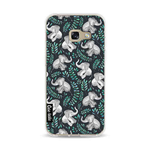 Casetastic Softcover Samsung Galaxy A3 (2017)  - Laughing Baby Elephants