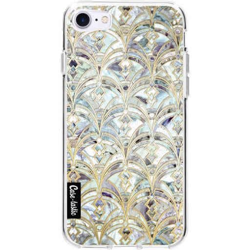 Casetastic Softcover Apple iPhone 7 / 8 / SE (2020) - Mint Art Deco Marbling