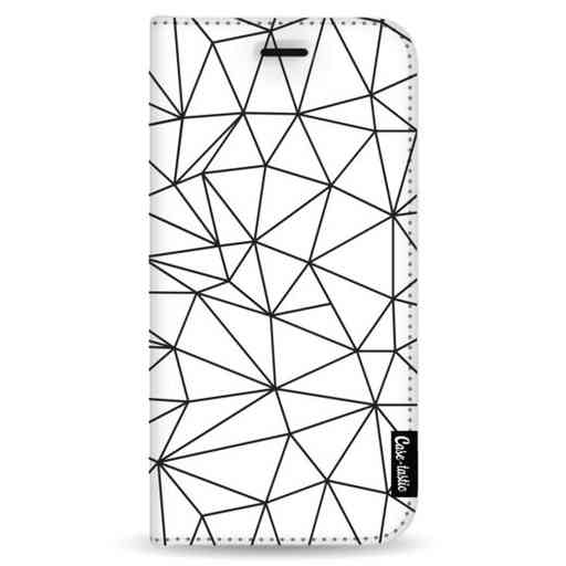 Casetastic Wallet Case White Samsung Galaxy Note 8 - So Many Lines! Black