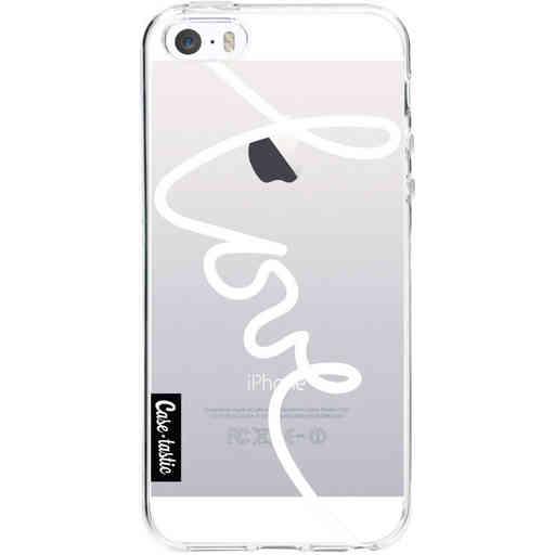 Casetastic Softcover Apple iPhone 5 / 5s / SE - Written Love White