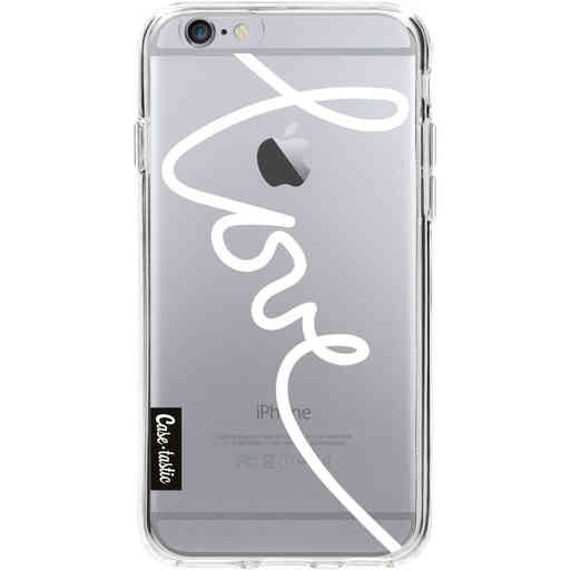 Casetastic Softcover Apple iPhone 6 / 6s - Written Love White