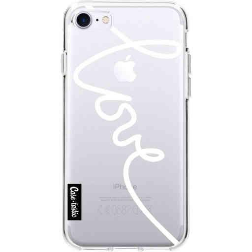Casetastic Softcover Apple iPhone 7 / 8 / SE (2020) - Written Love White