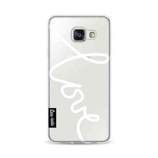 Casetastic Softcover Samsung Galaxy A3 (2016) - Written Love White