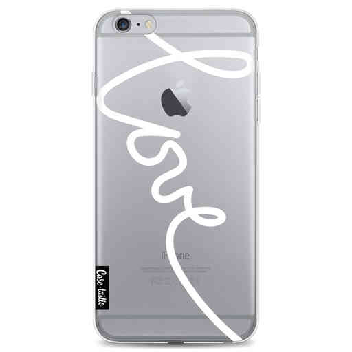 Casetastic Softcover Apple iPhone 6 Plus / 6s Plus - Written Love White