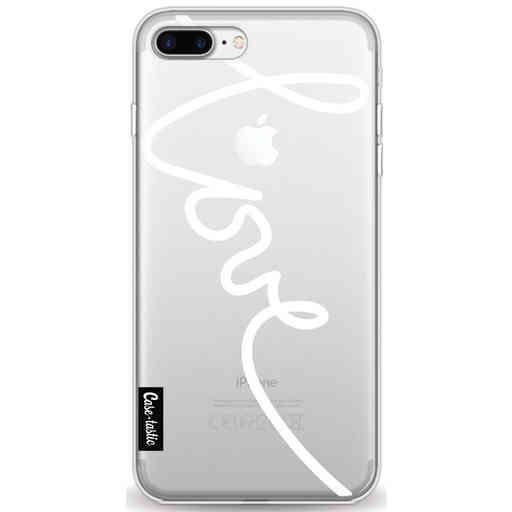 Casetastic Softcover Apple iPhone 7 Plus / 8 Plus - Written Love White