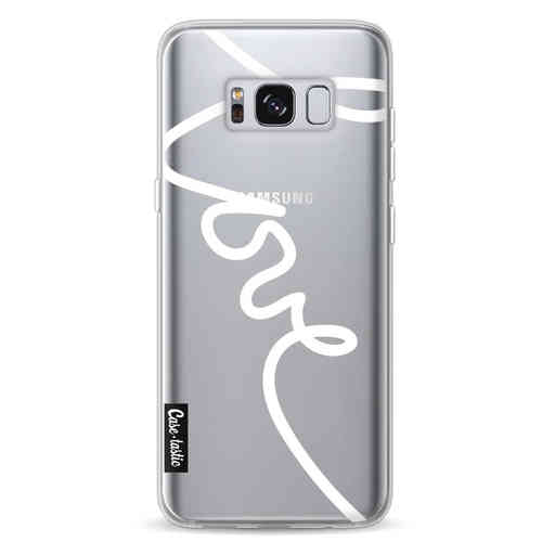 Casetastic Softcover Samsung Galaxy S8 - Written Love White